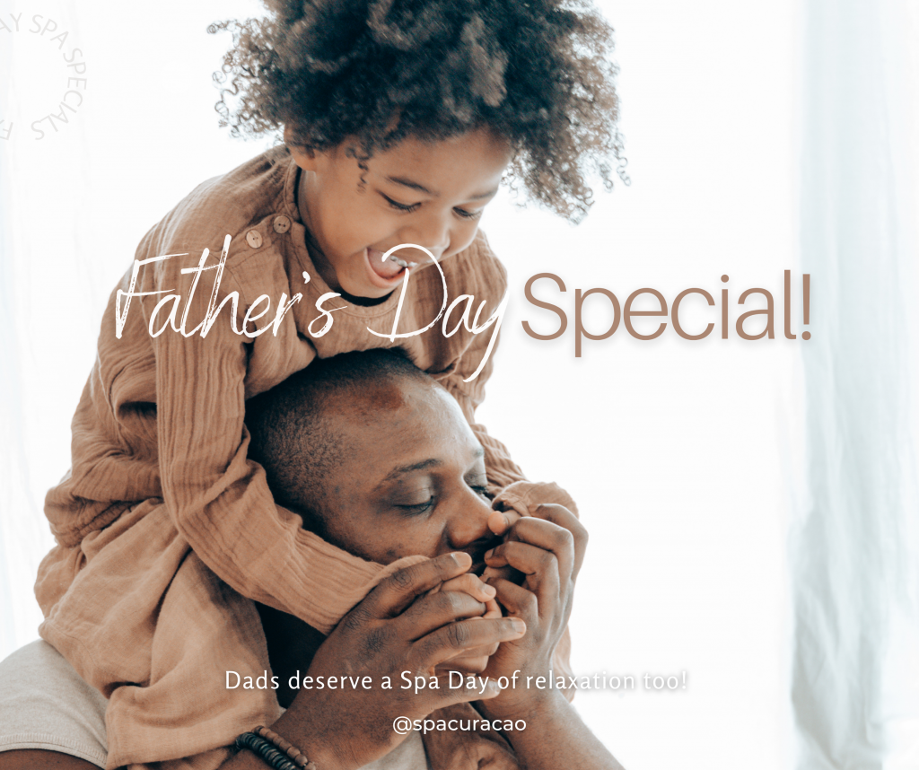 Celebrate Father's Day All Month!! Give Dad the precious gift of wellbeing.