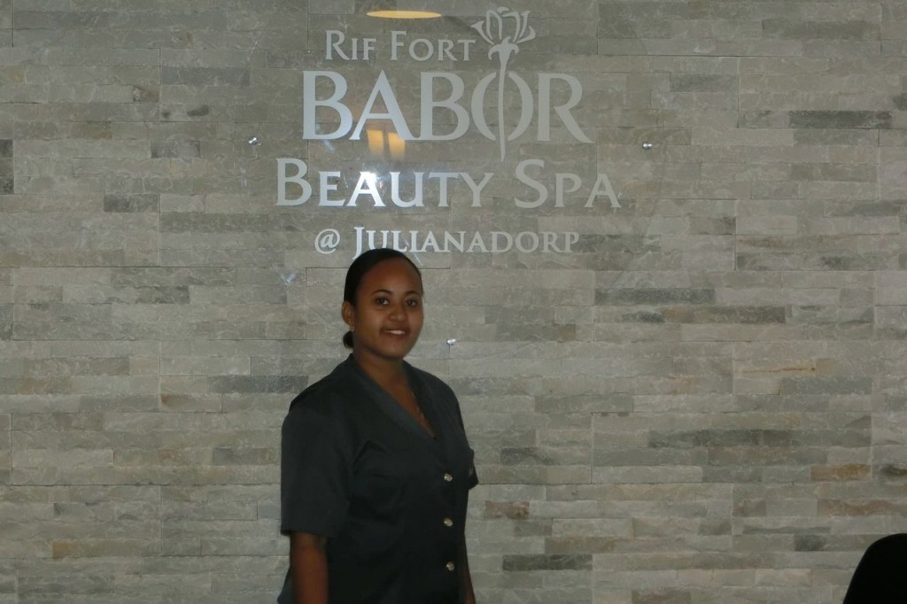May we introduce our colleague Jenneli Domacasse. She is working at the Rif Fort Babor Beauty Spa Curacao @Julianadorp