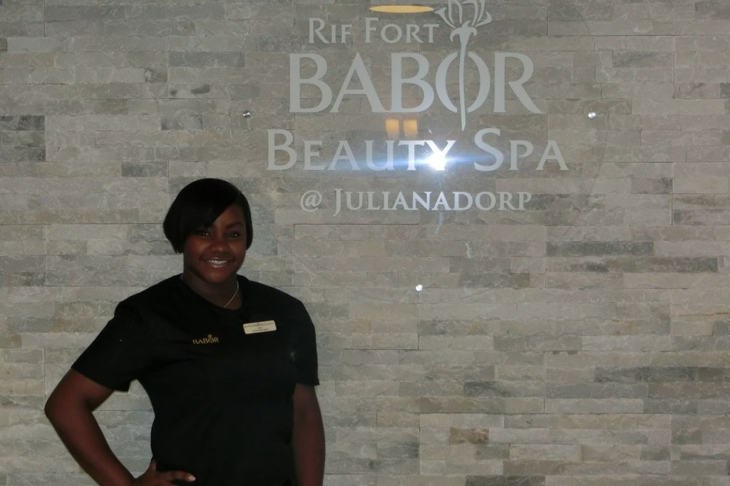 May we introduce our colleague Lyza Juliana. She is working at the Rif Fort Babor Beauty Spa Curacao @Julianadorp