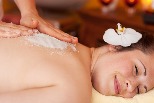 August Scrub and Massage Special Valued at $115- Available for only $99