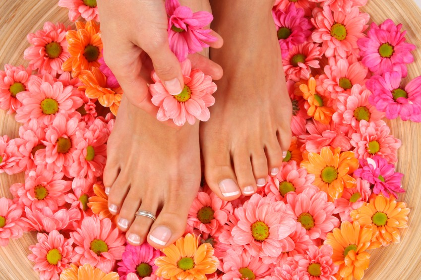 Enjoy a Pedicure in the luxurious Rif Fort Babor Beauty Spa Curacao @Julianadorp.
