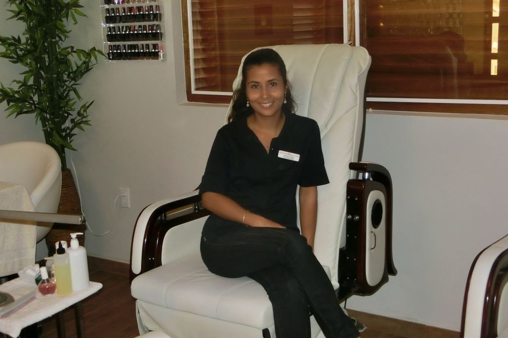 Enjoy a Pedicure in the luxurious Babor Beauty Spa Curacao.